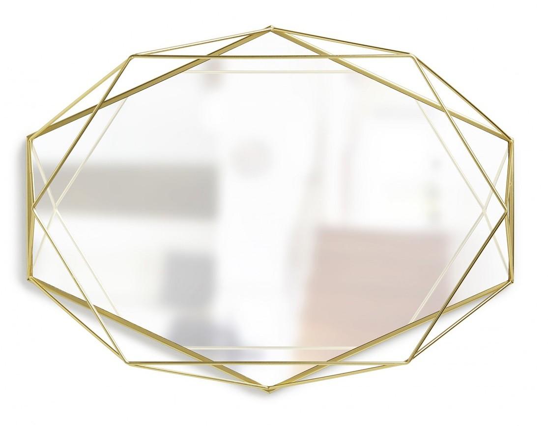 Miroir geometrique dore umbra fleux l 39 atypique blog for Miroir geometrique